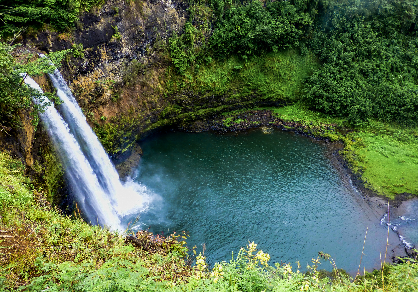 3 week Hawaii itinerary. Opeaka Waterfall, Kauai
