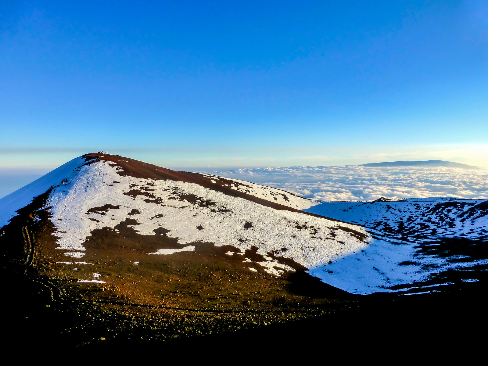 Mauna Kea Summit in Hawaii