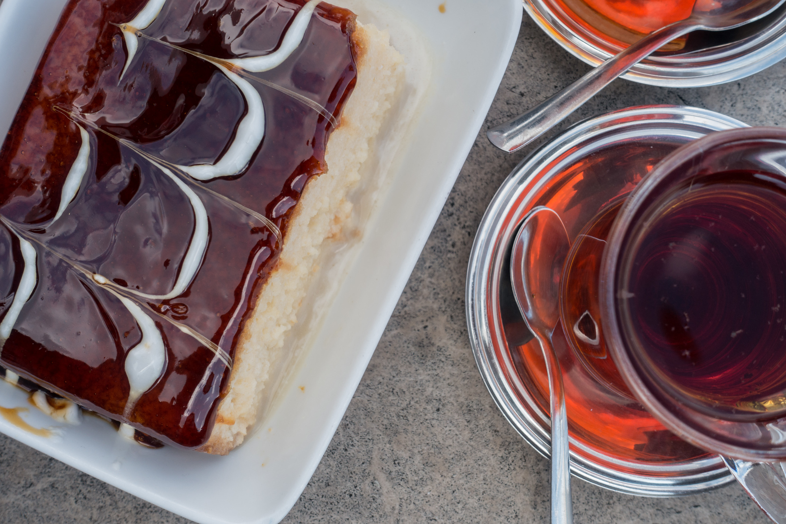 Turkish Delights - Trilece Cake and Turkish Tea