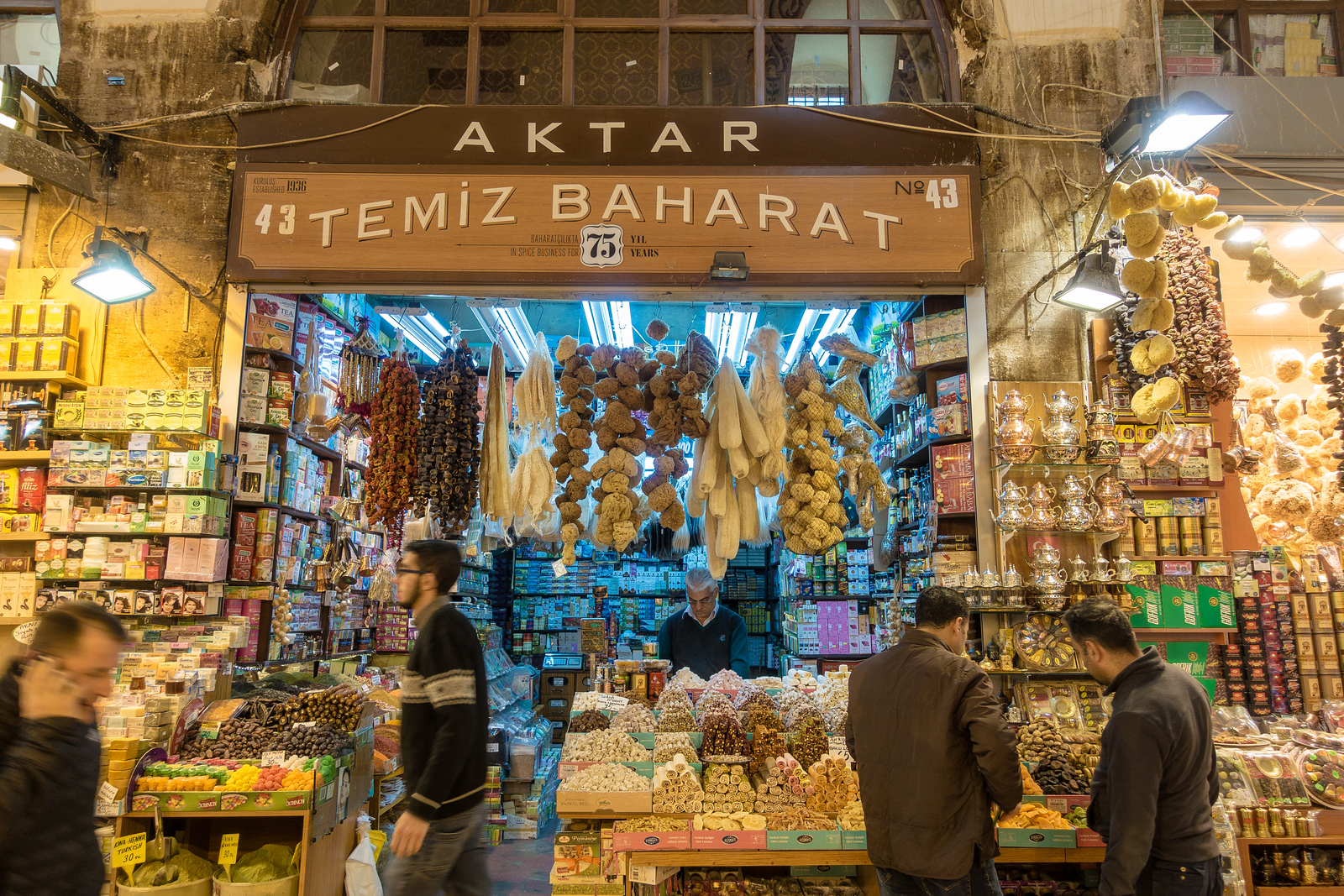 Things to do in Istanbul. The Spice Bazaar