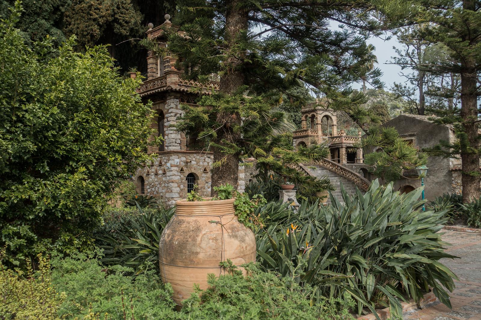 Taormina Public Garden, Sicily